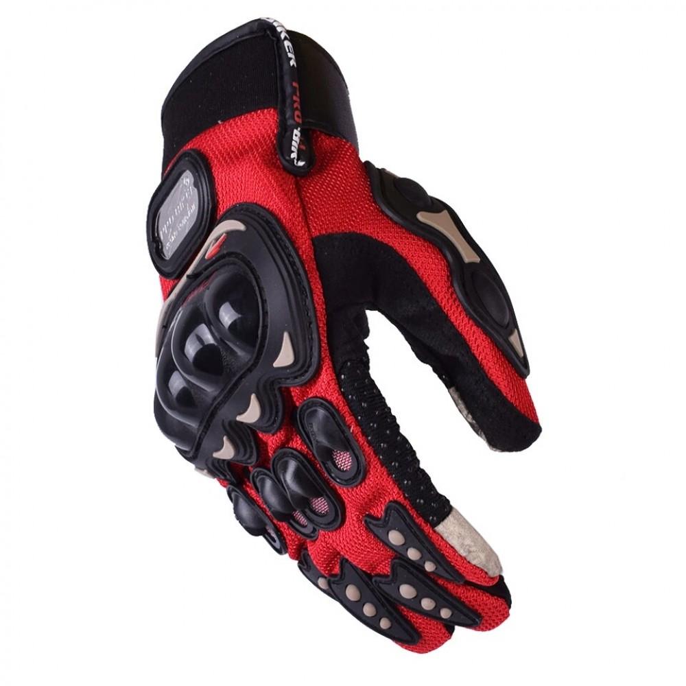 PRO Biker Gloves Mcs-01C RED