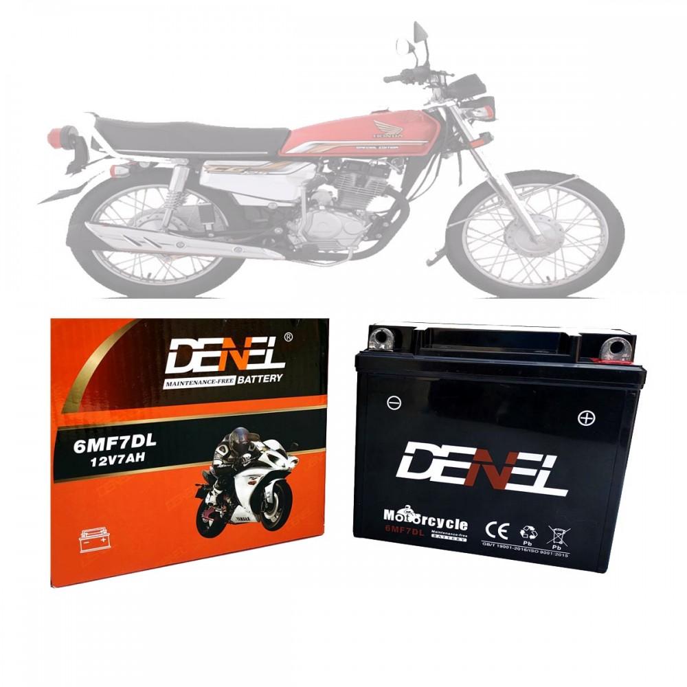 DENEL DRY BATTERY FOR HONDA CG125 SPECIAL EDITION 6MF7DL
