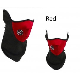 Combo Winter Mask / Gloves - Red