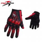 HX Racing Gloves MCS-18 RED