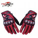 PRO Biker Gloves MCS-23 RED