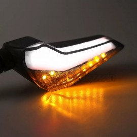 L-Shape Dual LED Running Indicators - White