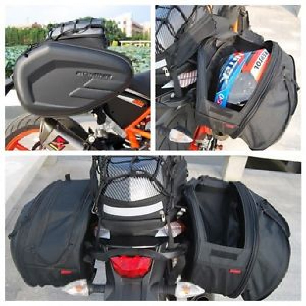 Pair of Komine Saddle Bags